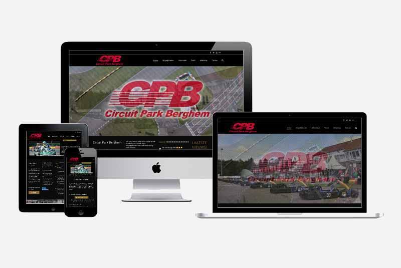 Website circuitpark berghem