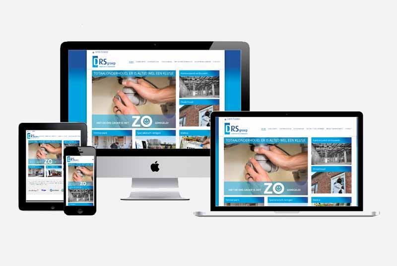 Website Drs Groep