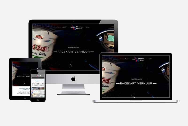 Website Hugo Motersports