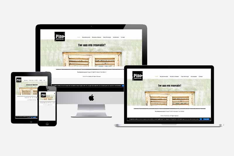 Website Pino Meubelrenovatie
