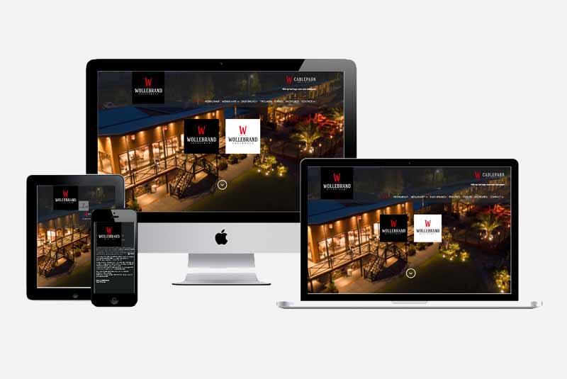 Website Restaurant Wollebrand